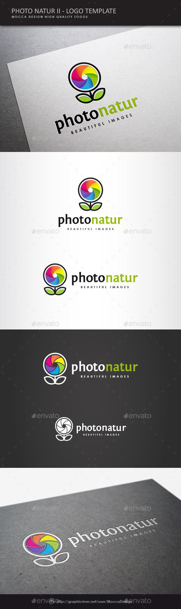 GraphicRiver Photo Natur II Logo 8934923