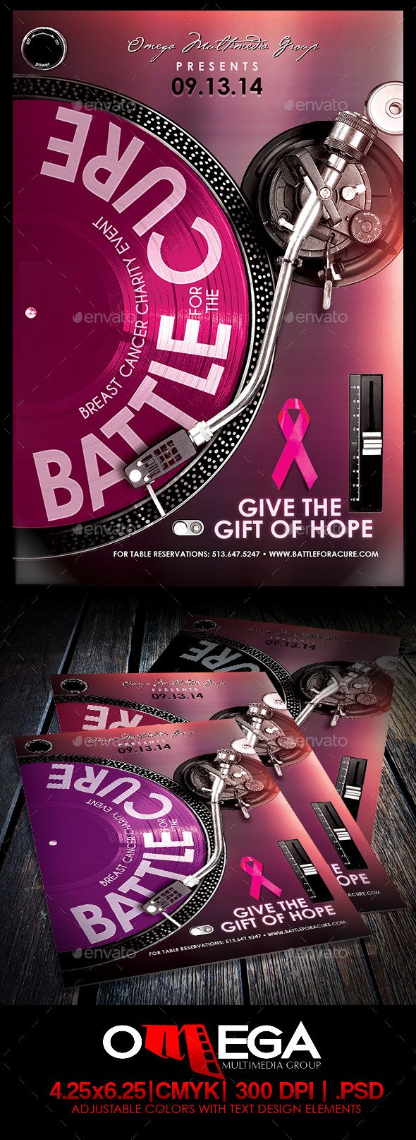 GraphicRiver Battle for a Cure V2 8935181