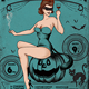 Halloween Sexy Vintage Flyer - GraphicRiver Item for Sale