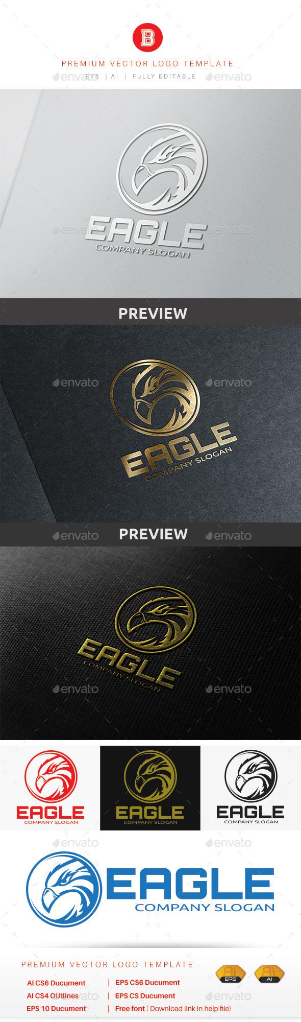 GraphicRiver Eagle Logo 8935518