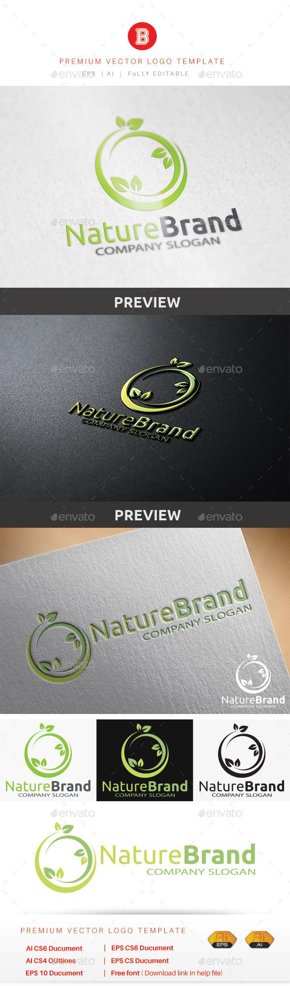 GraphicRiver Nature Brand 8935522