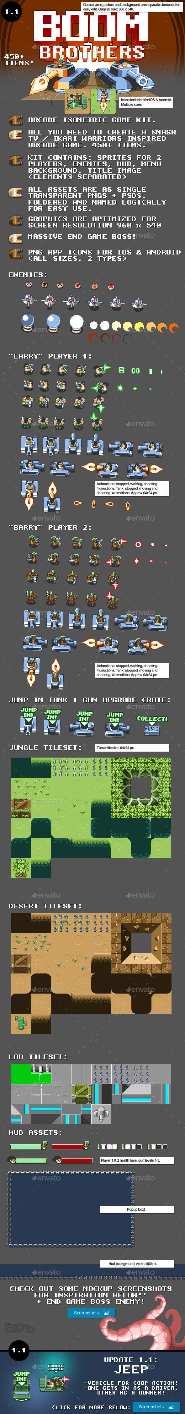 GraphicRiver Isometric Arcade Game Kit 8825486