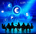 Business People and Global Finance Concepts