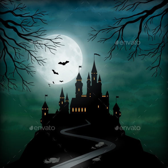 GraphicRiver Fantasy Vector Castle 8935593