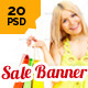 Shopping & Sale Web Ad Banners - GraphicRiver Item for Sale