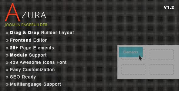 Azura Joomla Pagebuilder