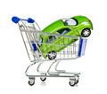 Shopping Cart with car - PhotoDune Item for Sale
