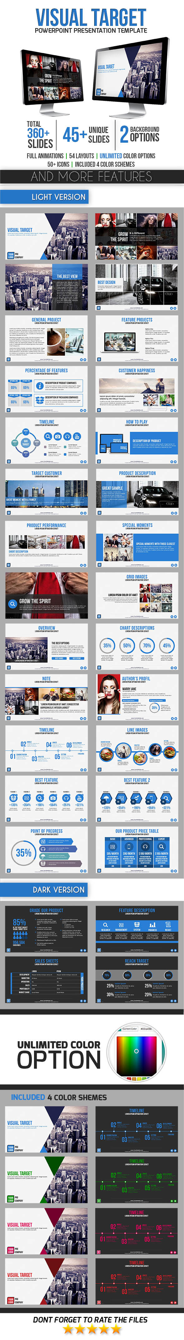 GraphicRiver Visual Target 8927425