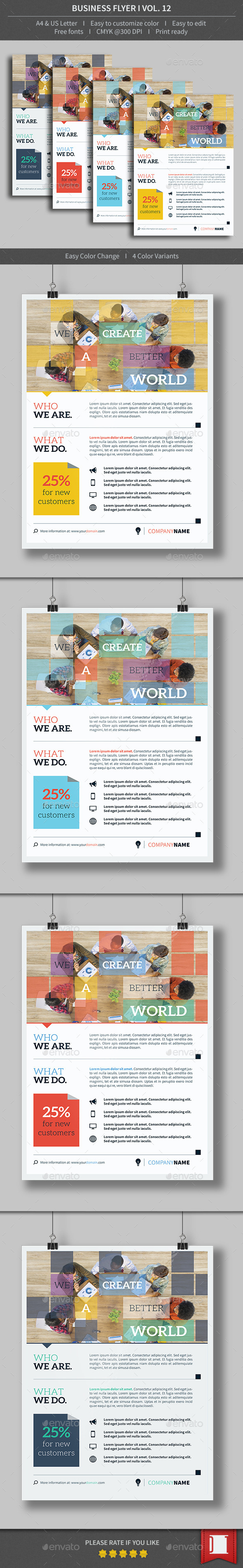 GraphicRiver Business Flyer Volume 12 8924789