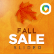 Fall Sale Slider