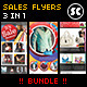 Multipurpose Sales Flyer Bundle - GraphicRiver Item for Sale
