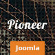 Pioneer - One Page Joomla template - ThemeForest Item for Sale