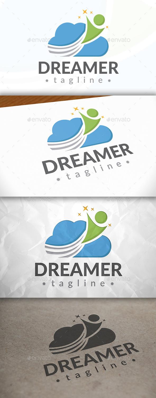 GraphicRiver Dreamer Logo 8937413