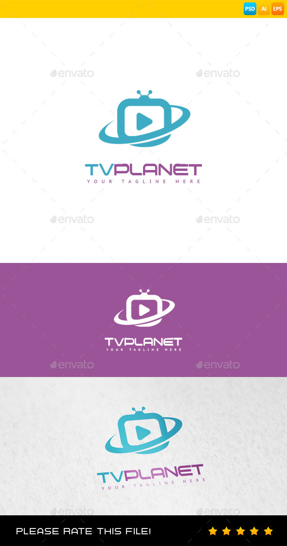 GraphicRiver Tv Planet 8937503