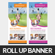 Technology Rollup Banner Template - GraphicRiver Item for Sale