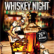 Whiskey Night Flyer Template