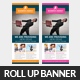 Business Roll-up Banner Psd Template  - GraphicRiver Item for Sale