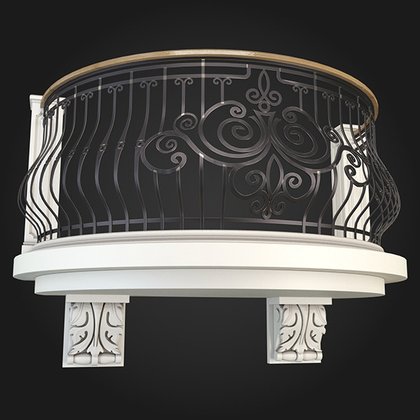 Balcony 006 - 3DOcean Item for Sale