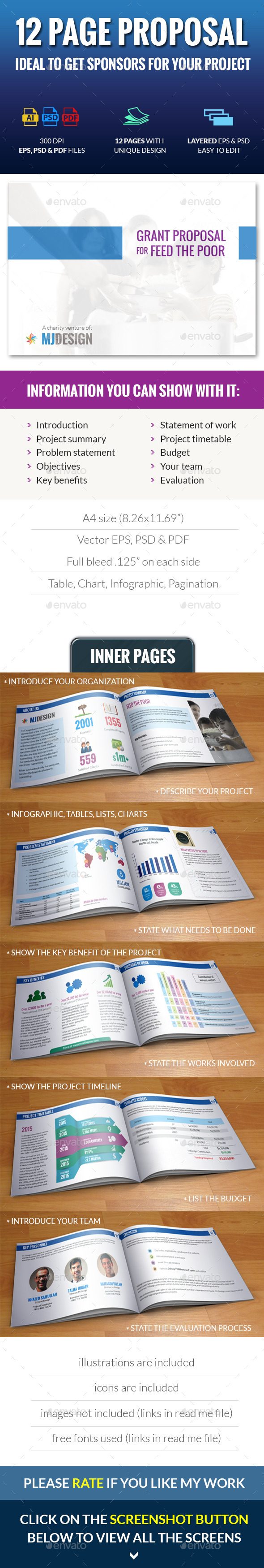 GraphicRiver Clean Proposal Template 8864145