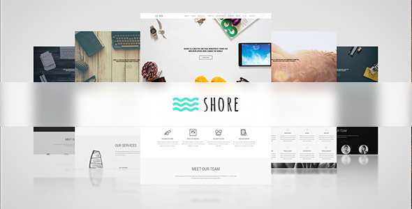 ThemeForest Shore Creative MultiPurpose WordPress Theme 8851911