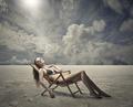 Lying in the desert - PhotoDune Item for Sale