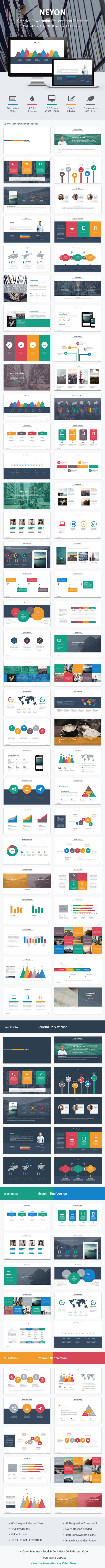 GraphicRiver Neyon Powerpoint Template 8937893