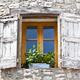 House facade with white shutters in France - PhotoDune Item for Sale
