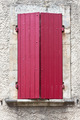 House facade with red shutters in France - PhotoDune Item for Sale