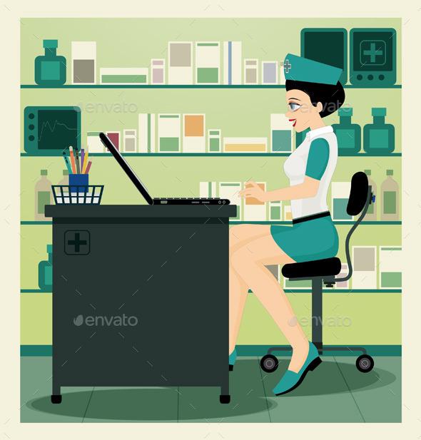 GraphicRiver Nurse 8938894