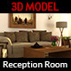 Reception Room 3D Model Vol.2
