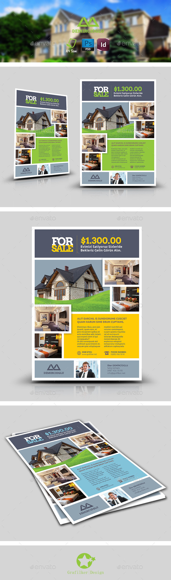 GraphicRiver Real Estate Flyer Templates 8939450
