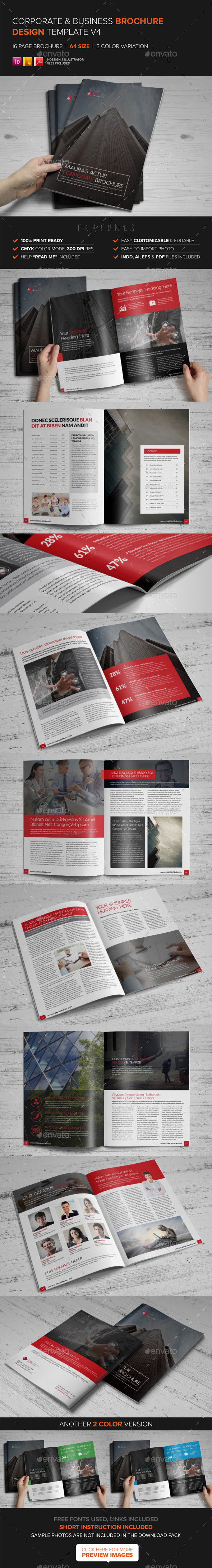 GraphicRiver Corporate Multipurpose Brochure Template v4 8939595