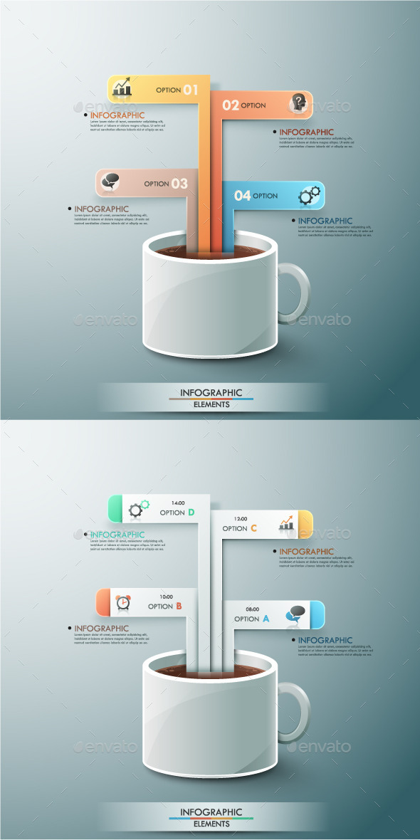 GraphicRiver Modern Infographic Options Template 2 Items 8939597