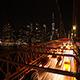 Brooklyn Bridge Night Traffic - VideoHive Item for Sale