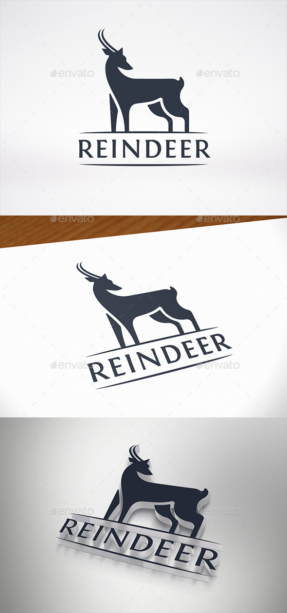 GraphicRiver Deer Logo Template 8939660