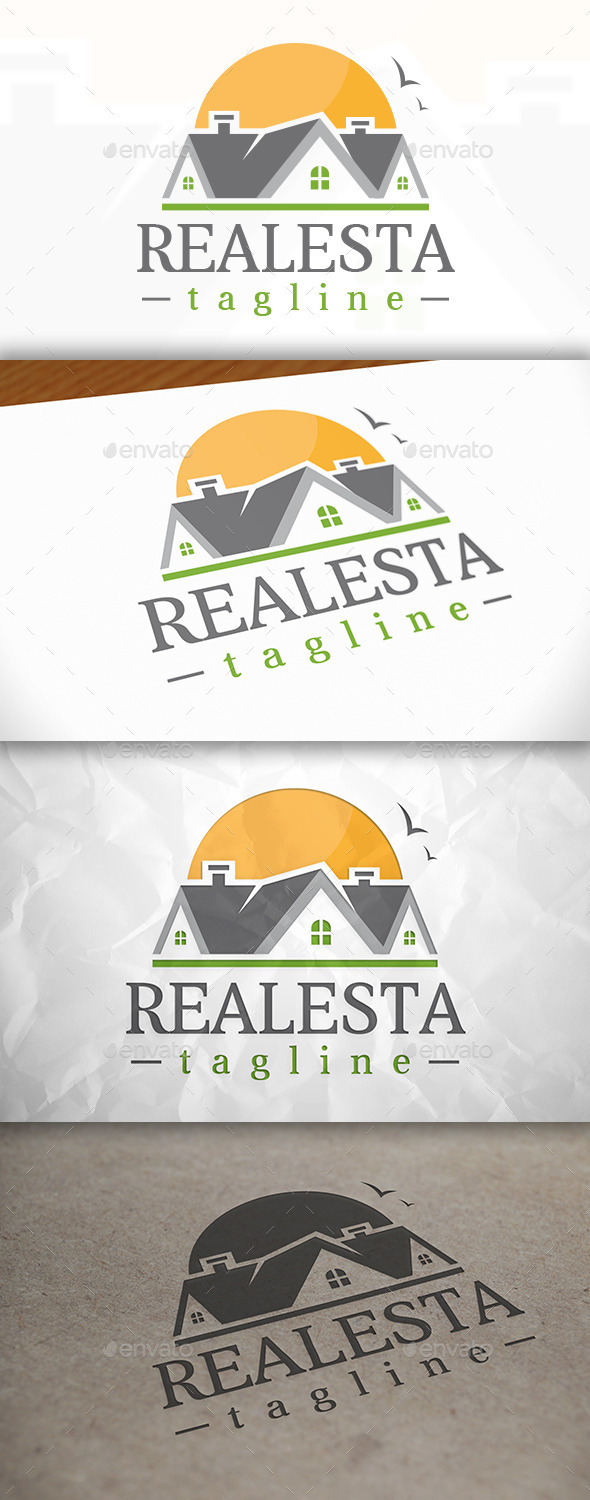 GraphicRiver Real Estate Logo V.01 8939767