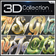 3D Collection Text Effects GO.3