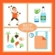 Healthy Lifestyle Illustration - GraphicRiver Item for Sale