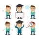 Education Characters Set - GraphicRiver Item for Sale