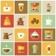 Coffee Icons Flat Set - GraphicRiver Item for Sale