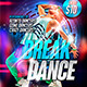 Break Dance Flyer Template