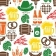 Oktoberfest Pattern - GraphicRiver Item for Sale