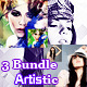 3 Artistic Photo Manipulation Bundle - GraphicRiver Item for Sale