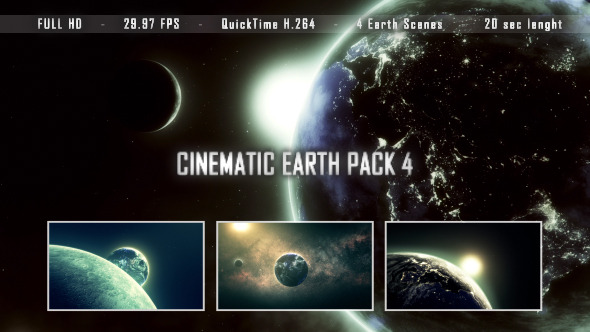 Cinematic Earth Pack 4