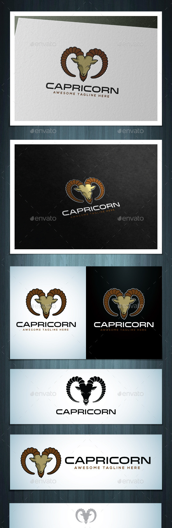 GraphicRiver Capricorn 8597323
