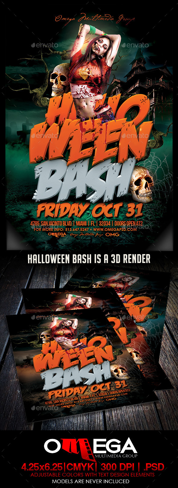 GraphicRiver Halloween Bash 8942347