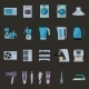 Set of Household Appliances Flat Icons - GraphicRiver Item for Sale