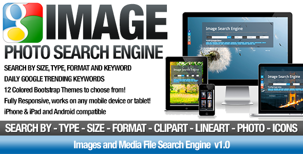 CodeCanyon Images and Photo Media File Search Engine 8942811