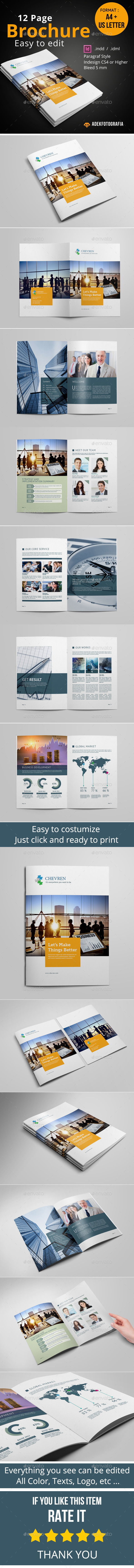 GraphicRiver Business Brochure Template 8942853