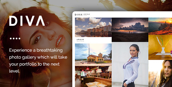 ThemeForest DIVA Fabulous Photography WP Theme 8943044